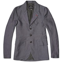 Nigel Cabourn Business Jacket Navy Oxford