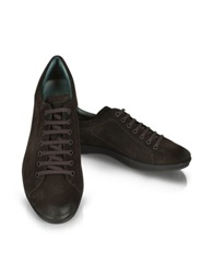 Moreschi Dark Brown Suede Sneaker