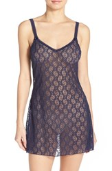 Women's B.Tempt'd By Wacoal 'Lace Kiss' Chemise Peacoat
