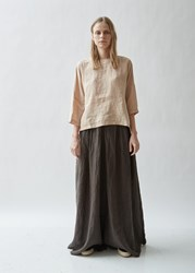7db250366de Black Crane Kite Short Sleeve Linen Dress Cream. £214. La Garçonne. Save. Black  Crane Gathered Linen Top Peach
