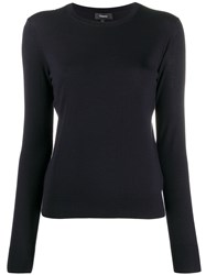 Theory Regal Long Sleeve Knit Top 60