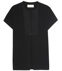 By Malene Birger Crepe Top Black