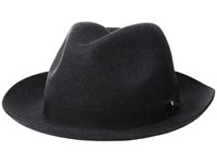 Pendleton Classic Fedora Charcoal Mix Fedora Hats Gray