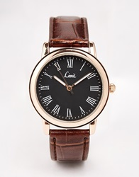 Limit Brown Strap Watch
