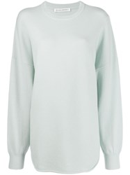 Extreme Cashmere Blend Relaxed Fit Jumper Green