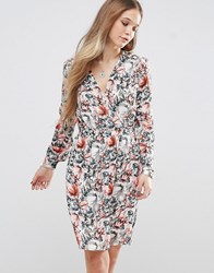 Pepe Jeans Aris Floral Tea Dress Multi 185