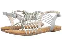 Not Rated Iron Gate Silver Women's Sandals