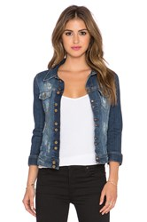 Acquaverde Denim Jacket Ragged