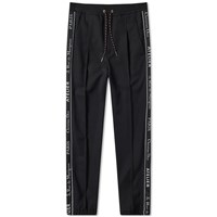 Christian Dior Homme Taped Seam Track Pant Black