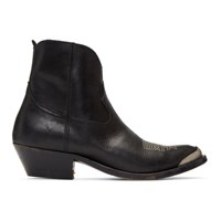 Golden Goose Black Young Boots