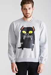 Forever 21 Mad Dog Heathered Sweatshirt