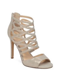 Vince Camuto Krisi Leather Dress Sandals Gold