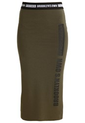 Brooklyn's Own By Rocawear Pencil Skirt Olive Night