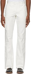 Wales Bonner White Tailored Cargo Trousers