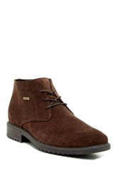 Blondo Griffin Suede Lace Up Waterproof Boot Brown