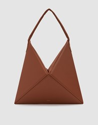 Mlouye Flex Hobo Bag In Light Brown