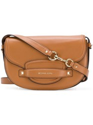 Michael Michael Kors Cary Saddle Bag Brown