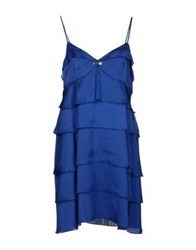 Compagnia Italiana Short Dresses Bright Blue