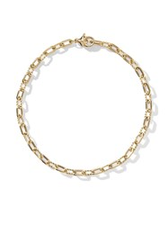 David Yurman 18Kt Yellow Gold Dy Madison Thin 3Mm Bracelet 88