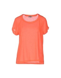 Suzie Winkle Short Sleeve T Shirts Coral