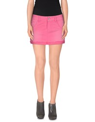 Jcolor Skirts Mini Skirts Women Fuchsia