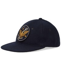 Rrl Fitted Ball Cap Blue