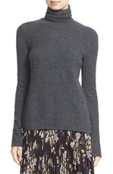 A.L.C. Women's 'Pippa' Surplice Back Wool And Cashmere Turtleneck Sweater Flannel