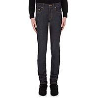 Saint Laurent Men's Low Rise Skinny Jeans Navy Blue Navy Blue