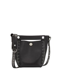 3.1 Phillip Lim Dolly Small Studded Leather Tote Bag Black