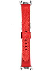 Fendi Watch Strap Calf Leather Red