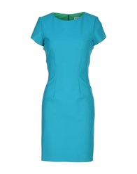 Christies A Porter Knee Length Dresses Turquoise