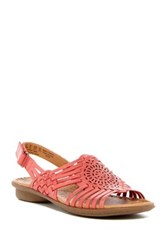 Naturalizer Wendy Huarache Sandal Wide Width Available Orange
