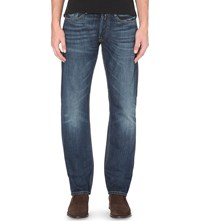 Replay Newbill Comfort Fit Straight Jeans Mid