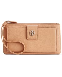 Giani Bernini Medium Grab And Go Leather Wristlet With Rfid Block Anti Theft Technology Only At Macy's Spice