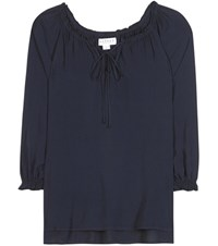 Velvet Kimberly Blouse Blue