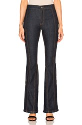 Givenchy Flare Jeans In Blue