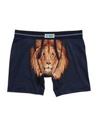 Original Penguin Lion Graphic Boxer Briefs Dark Sapphire