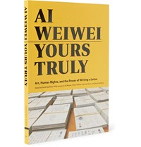 Abrams Ai Weiwei Yours Truly Hardcover Book Yellow