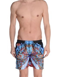 Fifteen And Half Swimming Trunks Blue