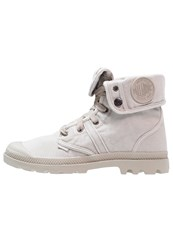 Palladium Pallabrousse Baggy Laceup Boots Goot Silver Birch Light Grey