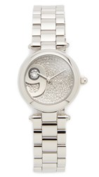 Marc Jacobs Dotty Extensions Watch Stainless Steel Clear