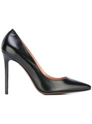 L'autre Chose Pointed Toe Pumps Black