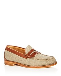 G.H. Bass And Co. Larson Penny Loafers White