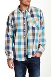 7 For All Mankind Gingham Slim Fit Shirt Multi