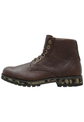 Camel Active Laceup Boots Mocca Brown