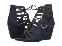 Kenneth Cole Reaction Cake Pop Navy Women's Wedge Shoes