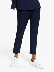 Eileen Fisher Slim Fit Ankle Trousers Midnight