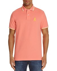 Psycho Bunny Neon Regular Fit Polo Shirt Melon
