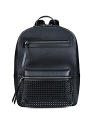 Christian Louboutin Aliosha Studded Grained Leather Backpack