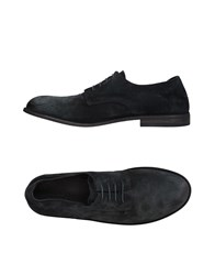 Pantanetti Lace Up Shoes Steel Grey